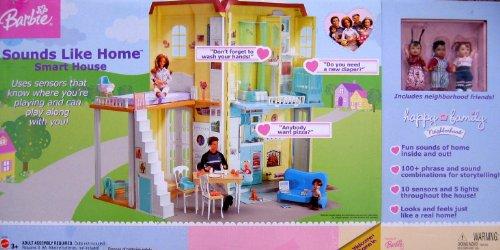 [バービー]Barbie Happy Family SOUNDS LIKE HOME SMART HOUSE Playset w LIGHTS & SOUNDS C7538