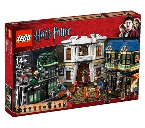 おもちゃ Lego レゴ Harry Potter ハリーポッター Exclusive Set #10217 Diagon Alley