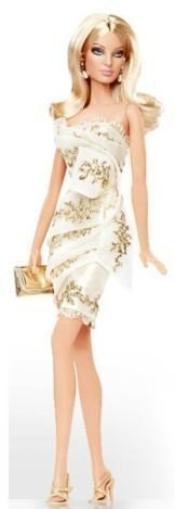 バービー Platinum Edition Glimmer of Gold Barbie Doll Designed By Robert Best Only 999 Dolls World