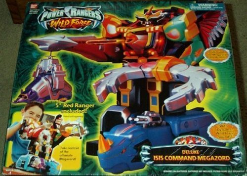 Deluxe Isis Command Megazord Power Rangers Wild Force Electronic Action Figure By BanDai MMPR