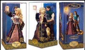 Disney (ディズニー)Designer Fairytale Rapunzel And Flynn Dolls 限定品 ドール 人形 フィギュア