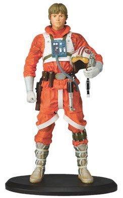 Star Wars スターウォーズ LUKE ルーク SKYWALKER as X-WING PILOT STATUE by ATTAKUS