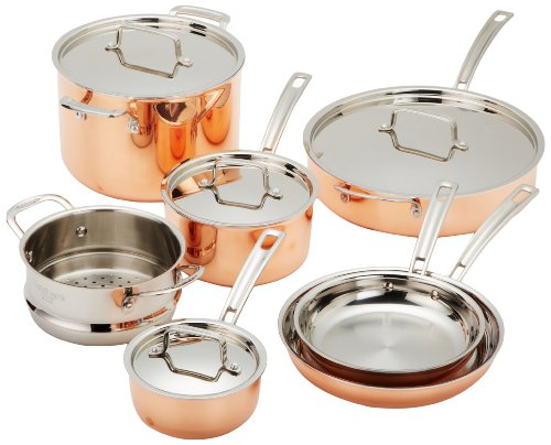 CTP-11AM トライプライステンレススチール 調理器具セット(11ピース) Cuisinart社