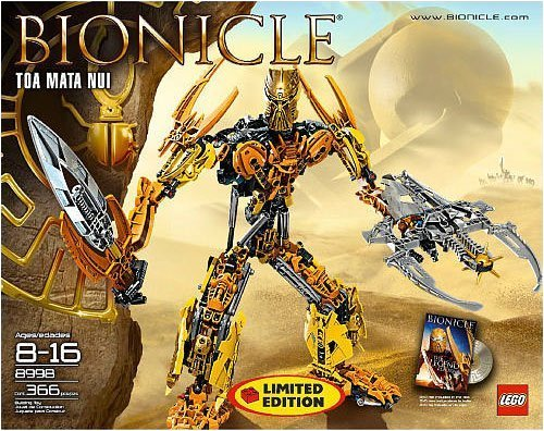 おもちゃ Lego レゴ Bionicle Limited Edition Collector Set #8998 Toa Mata Nui