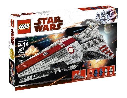 LEGO Star Wars Venator-class Republic Attack Cruiser (8039) by LEGO