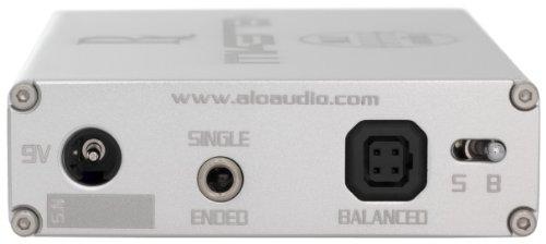 ALO audio Rx Mk3-B+ シルバー ポータブルヘッドホンアンプ バランス伝送対応 ALO-2224