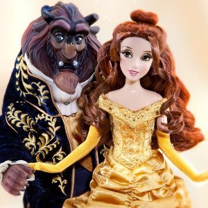 Disney (ディズニー)Store Designer Collection Beauty and the Beast 限定品 (限定品) dolls ドール 人