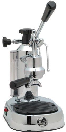 La Pavoni エスプレッソマシン EPC-8 Europiccola 8-Cup Lever Style Espresso Machine, Chrome