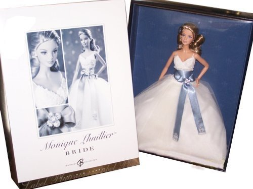 Platinum Label Monique Lhuillier Bride Collectible Doll Blonde by Barbie