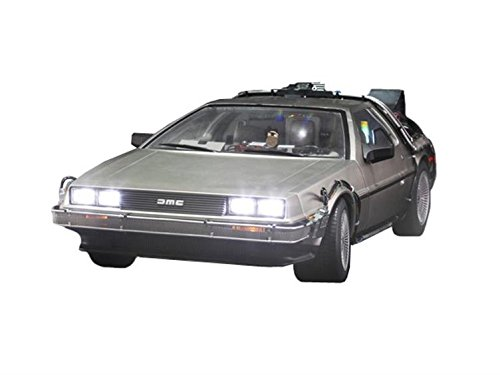 1/6 Scale Back to The Future Movie Masterpiece Vehicle - DeLorean Time Machine Back To The Future