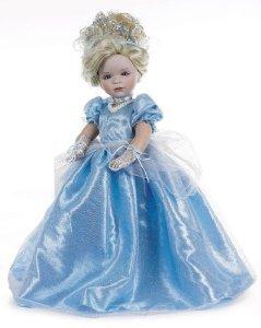 国内発送 Linda Rick The Doll Linda Maker Cinderella (シンデレラ) 人形 Porcelain Porcelain 24