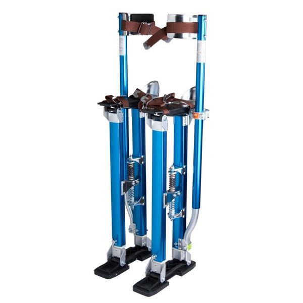 """アルミニウム Drywall Stilts ツール Stilt For Painting Painter 24""""-40"""" インチ - Blue"""