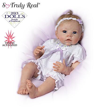 【アシュトンドレイク】Touch-Activated Lifelike Moving Baby Doll By Linda/赤ちゃん人形/ベビードール