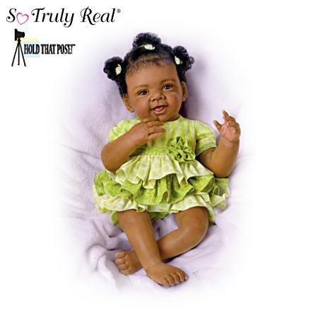 【アシュトンドレイク】★Alexis★ Poseable Baby Doll By Waltraud Hanl/赤ちゃん人形/ベビードール