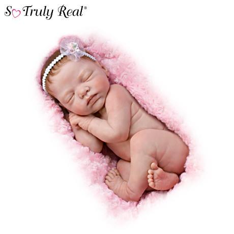 【アシュトンドレイク】Lifelike Newborn Baby Doll By Marita Winters/赤ちゃん人形/ベビードール