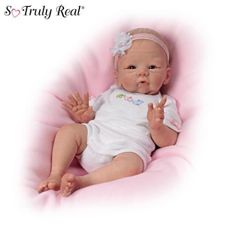 【アシュトンドレイク】Tasha Edenholm ★Snuggle Bunny★ Lifelike Poseable/赤ちゃん人形/ベビードール