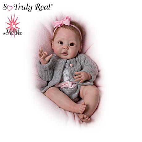 【アシュトンドレイク】Sherry Miller ★Cuddly Coo!★ Interactive Baby Dol/赤ちゃん人形/ベビードール