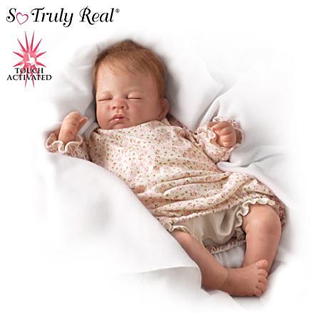 【アシュトンドレイク】★Hush, Little Baby★ Lifelike Breathing Doll/赤ちゃん人形/ベビードール