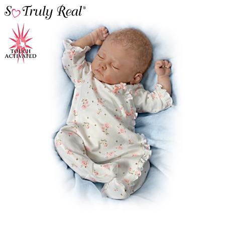 【アシュトンドレイク】Linda Murray Touch-Activated Baby Doll Collection/赤ちゃん人形/ベビードール