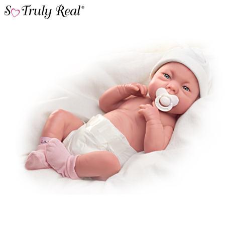 【アシュトンドレイク】Lifelike Baby Girl ★Early Arrivals★ Doll/赤ちゃん人形/ベビードール