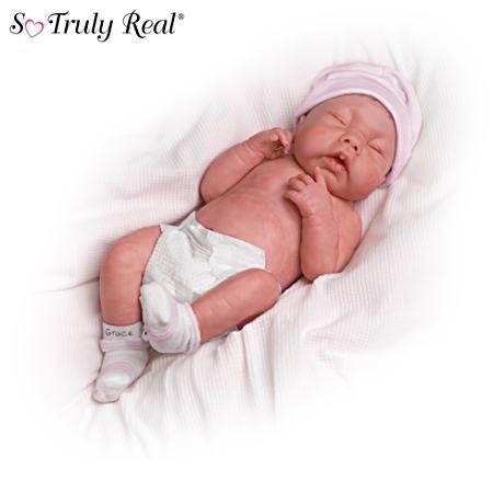 【アシュトンドレイク】★May God Bless You, Little Grace★ Lifelike Doll/赤ちゃん人形/ベビードール