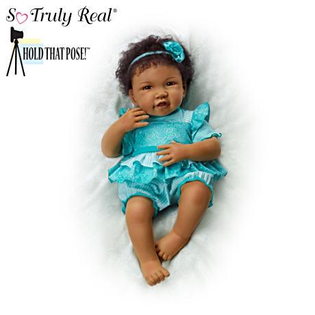 【アシュトンドレイク】Hold That Pose ★Destiny★ Lifelike Baby Doll By W/赤ちゃん人形/ベビードール