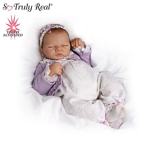 【アシュトンドレイク】★Sweet Dreams★ Lifelike Breathing Emily Doll/赤ちゃん人形/ベビードール