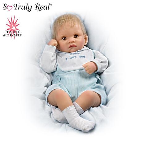 【アシュトンドレイク】So Truly Real Touch-Activated Realistic Baby Doll/赤ちゃん人形/ベビードール