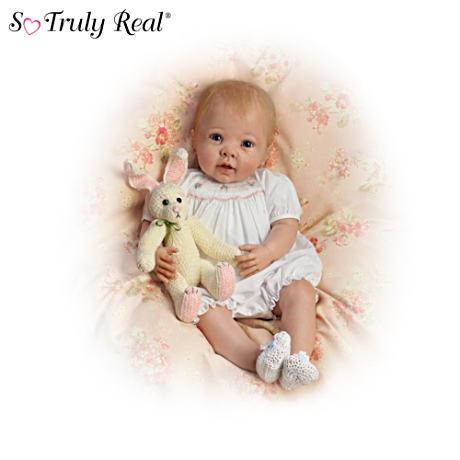 【アシュトンドレイク】Linda Murray ★Country Cuties★ Poseable Baby Doll/赤ちゃん人形/ベビードール