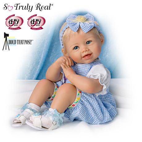 【アシュトンドレイク】Bonnie Chyle ★Madison★ Poseable Lifelike Baby Gi/赤ちゃん人形/ベビードール