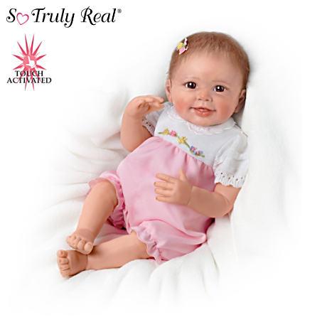 【アシュトンドレイク】Lifelike Interactive Baby Doll With Moving Feet/赤ちゃん人形/ベビードール