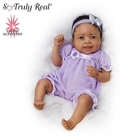 【アシュトンドレイク】Linda Murray ★Trinity★ Touch-Activated Baby Girl/赤ちゃん人形/ベビードール