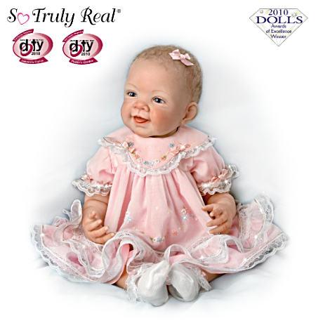 【アシュトンドレイク】★Pretty In Pink★ 25th Anniversary So Truly Real /赤ちゃん人形/ベビードール