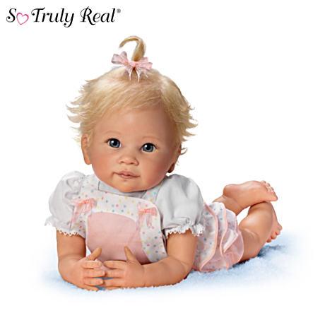 【アシュトンドレイク】Linda Murray ★Addie's Tummy Time★ Lifelike Posea/赤ちゃん人形/ベビードール