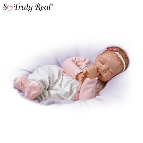 【アシュトンドレイク】★Sweet Dreams, Little Ava★ Baby Doll By Waltraud/赤ちゃん人形/ベビードール