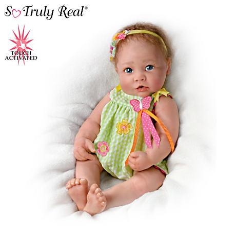 【アシュトンドレイク】Touch-Activated Lifelike Baby Doll By Linda Murray/赤ちゃん人形/ベビードール