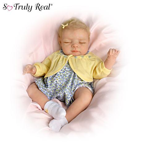 【アシュトンドレイク】So Truly Real Lifelike Newborn Baby Girl Doll: Lau/赤ちゃん人形/ベビードール