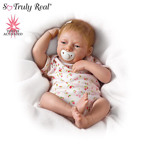 【アシュトンドレイク】The Lifelike ★Breathing★ Baby Girl Doll, Maggie/赤ちゃん人形/ベビードール