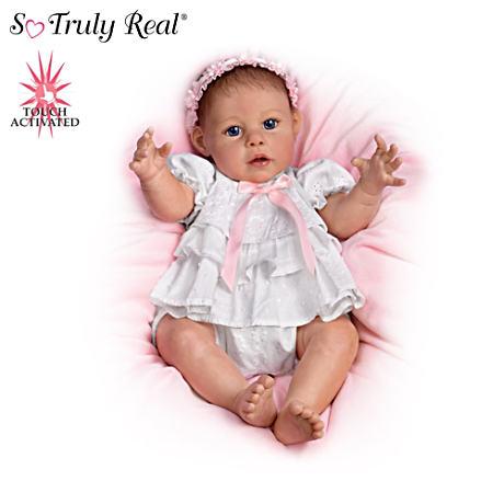 【アシュトンドレイク】Touch-Activated Baby Doll Collection By Jannie DeL/赤ちゃん人形/ベビードール