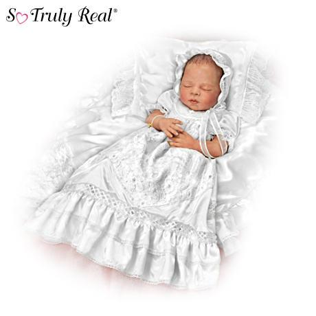 【アシュトンドレイク】★All God's Grace In One Little Face★ Christening/赤ちゃん人形/ベビードール
