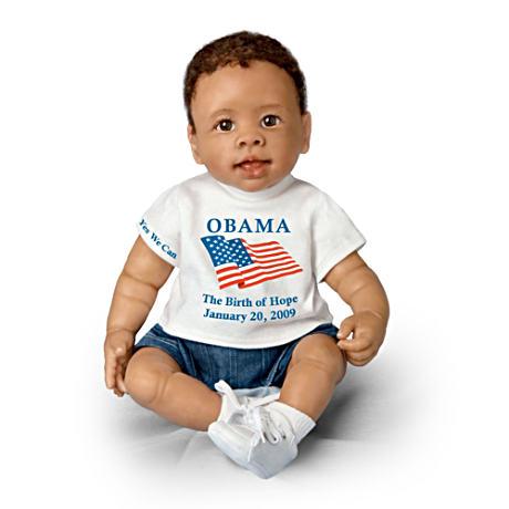 【アシュトンドレイク】President Barack Obama Commemorative Baby Doll/赤ちゃん人形/ベビードール