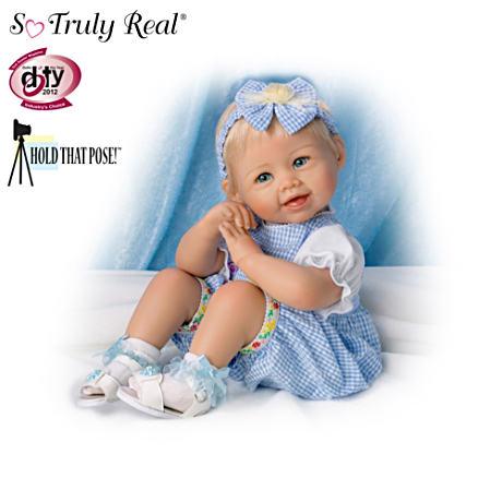 【アシュトンドレイク】Let's Play! Poseable Baby Doll Collection By Bonni/赤ちゃん人形/ベビードール