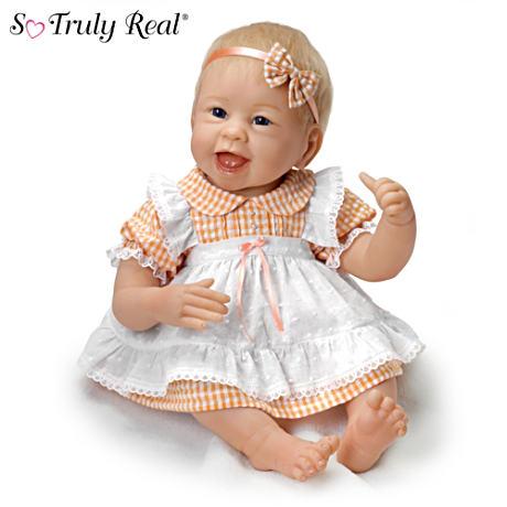【アシュトンドレイク】Linda Murray ★Little Light Of Mine★ Poseable Bab/赤ちゃん人形/ベビードール