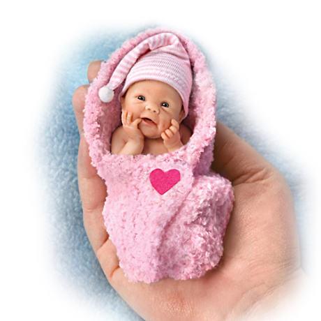 【アシュトンドレイク】Sherry Rawn ★Bundle Babies★ Miniature Lifelike B/赤ちゃん人形/ベビードール