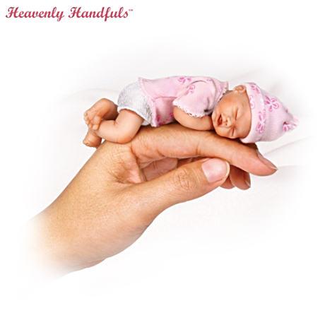 【アシュトンドレイク】Heavenly Handfuls Miniature Lifelike Doll Collecti/赤ちゃん人形/ベビードール