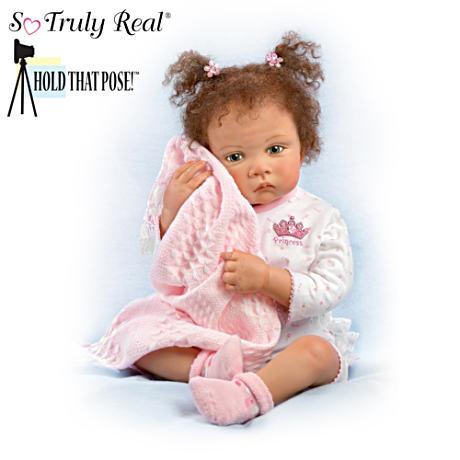 【アシュトンドレイク】Waltraud Hanl ★Sweet Princess★ Poseable Baby Gir/赤ちゃん人形/ベビードール