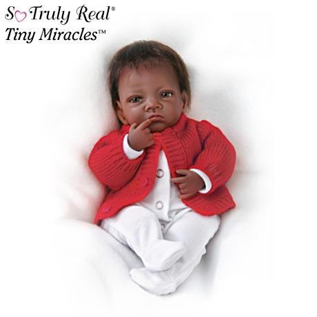 【アシュトンドレイク】Tiny Miracles ★Jasmine★ Lifelike Infant Doll/赤ちゃん人形/ベビードール