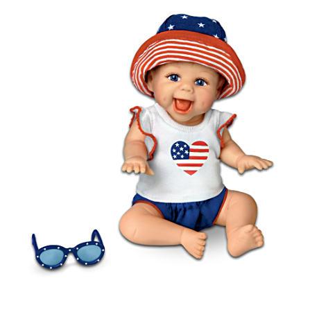 【アシュトンドレイク】★America, We Love You!★ Miniature Baby Doll Coll/赤ちゃん人形/ベビードール