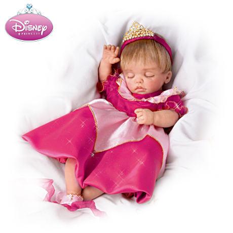 【アシュトンドレイク】Disney Lifelike Baby Doll Dressed Like Sleeping Be/赤ちゃん人形/ベビードール