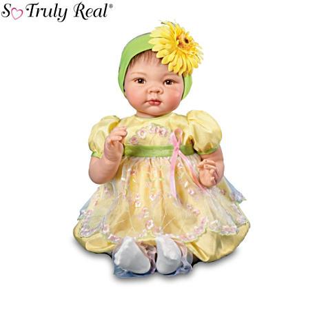 【アシュトンドレイク】Elly Knoops Breast Cancer Charity Baby Doll/赤ちゃん人形/ベビードール